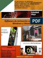 Maya Autodesk Animaciones