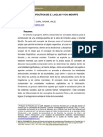 9 Ricardo Etchegaray La Ontologia Politica de e Laclau y Ch Mouffe