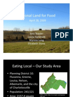 Food Systems Planning Community Presentation