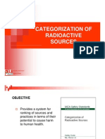 3 Categorization of Radioactive Sources (2)