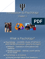 Chapter 1- Nature of Psychology Lesson