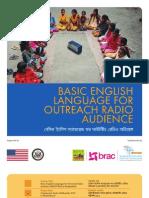 Basic English Language for Outreach Radio Audience Bangladesh [Pilot Project English Language through Community Radio Pollikantho 99.2]