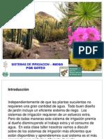 Sistema de Irrigacion Riego Por Goteo