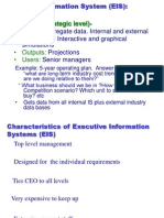 Business information system for managerial control and decision making