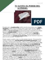 EL ESPÍRITU SANTO EL PODER DEL ALTÍSIMO