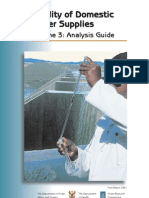 About Water Analysis