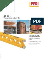 01.10 GT24 Girder Catalogue