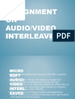 Assignment on Audio New