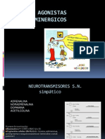 Fármacos agonistas catecolaminergicos