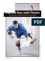 Improve Your Judo Throws