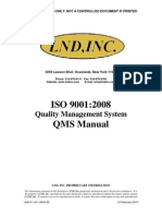 ISO9001_2008 Quality Manual 12 Feb 2013