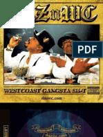 Digital Booklet - West Coast Gangsta Shit