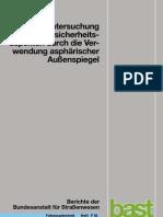 Untersuchung von Verkehrssicherheitsaspekten durch die Verwendung asphärischer Außenspiegel