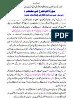 Surah Alam Nashrah Ke Mukhtasir Tafseer by Muhammad Najeeb Sambhali Qasmi