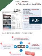 Dossier Presentation Graphisme Artistup - Juin 2013
