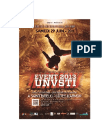 Programmation Du Battle International UnVsti Event 2013