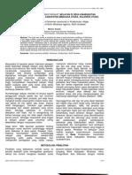 Keadaan Sosial-ekonomi Masyarakat Nelayan Dl Desa Kinabuhutan Kecamatan Likupang Barat. Kabupaten Minahasa Utara, Sulawesi Utara