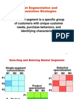 Market Segmentation and Segmentation Strategies