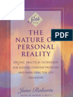 A Seth Book the Nature of Personal Reality by Jane Roberts