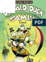 Donald Duck Family Comics Promo for Free Comic Book Day