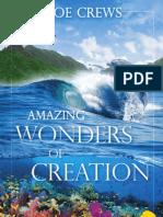 Amazing Wonders of Creation - By Joe Crews