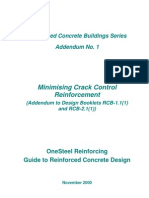 Minimising Crack Control Reinforcement_Design Booklet