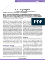 Validating Cancer Drug Targets
