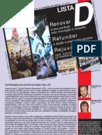 Manifesto Lista D