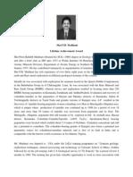 P.B. Maithani Bio-Data