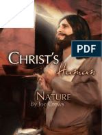 Christ's Human Nature - By Joe Crews