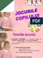 Prezentare Jocul copilului