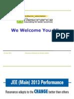 Presentation for ResoNET Day (for JB & JR)