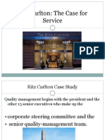 Ritz Carlton Critz carltonase Study