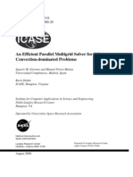 (eBook CFD) - An Efficient Parallel Multigrid Solver for 3-D