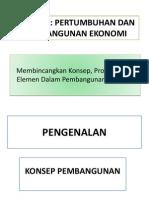 Pss3112 Pertumbuhan Dan Pembangunan Ekonomi