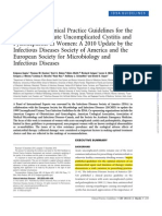 AUA Guideline 2011 IVU y Pielonefritis