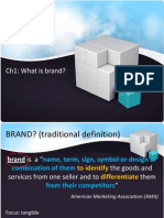 BRANDING Ch1 - What is Brand