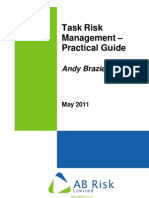 Task Risk Management - Practical Guide 01