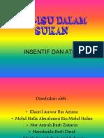 Isu-Isu Dalam Sukan (Insentif & Atlet)