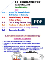 Chapter 8 Generaton of Electricity Extra Note