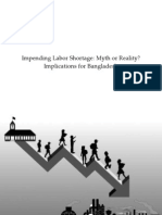 Impending Labor Shortage:Myth or Reality?: Implications for Bangladesh
