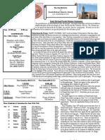 St. Michael's June 16, 2013 Bulletin