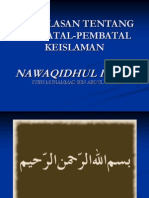 Nawaqidul Islam Enterohepatik