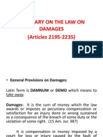 Law on Damages