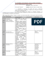 Modelo de Planificacion Clase a Clase