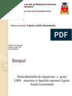 Lipaza acida lizozomala