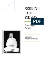 Seeking the Sidhas - Part 2 - Ramalinga Adigal