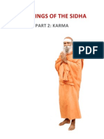 Teachings of the Sidhas - Part 2 - Karma