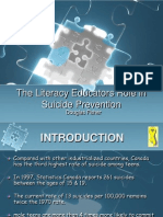 the literacy educators role in suicide prevention