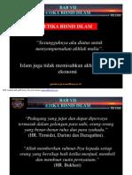Bab Vii Etika Bisnis Islami